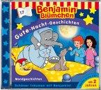 Gute-Nacht-Geschichten - Mondgeschichten / Benjamin Blümchen Bd.17 (1 Audio-CD)