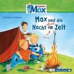 Max und die Nacht ohne Zelt / Typisch Max Bd.5 (1 Audio-CD)
