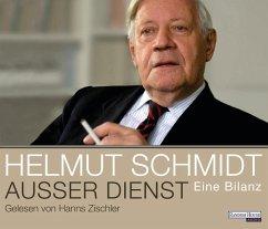 Außer Dienst, 6 Audio-CDs - Schmidt, Helmut