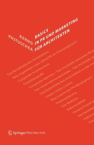 Basics in PR und Marketing für Architekten
