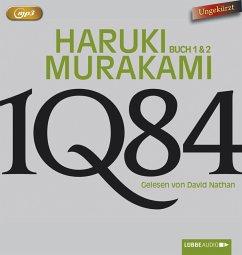 1Q84, 6 MP3-CD - Murakami, Haruki