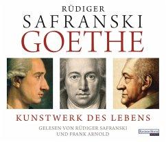 Goethe, 8 Audio-CDs - Safranski, Rüdiger
