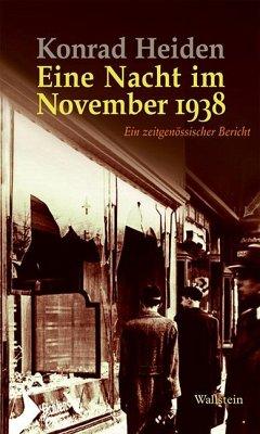 Eine Nacht im November 1938 - Heiden, Konrad