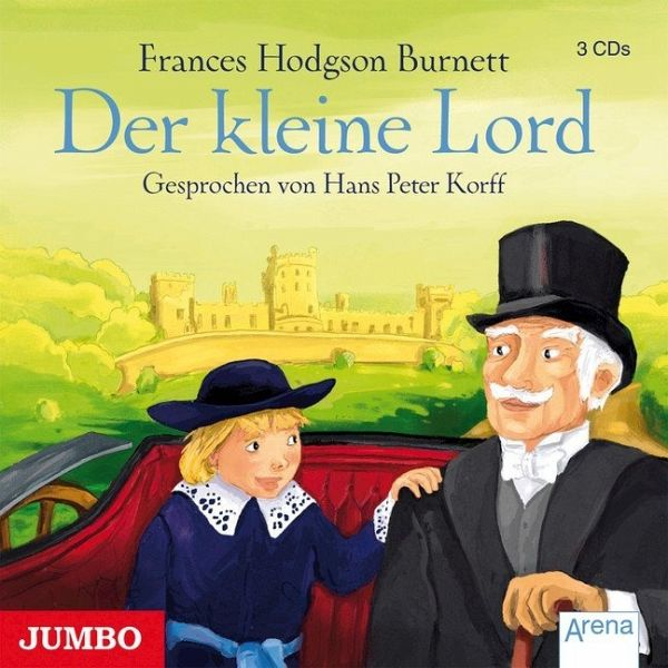 der kleine lord 3 audio cds von frances hodgson burnett h rb cher portofrei bei b. Black Bedroom Furniture Sets. Home Design Ideas