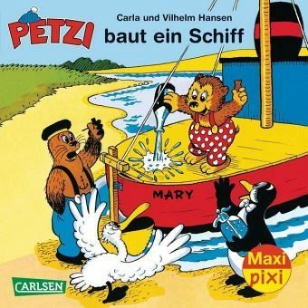 Buch-Reihe Petzi von Hansen & Hansen
