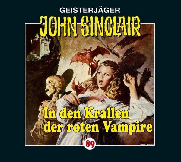 In den Krallen der roten Vampire / Geisterjäger John Sinclair Bd.89 (1 Audio-CD) - Dark, Jason