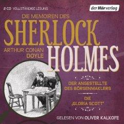 Die Memoiren des Sherlock Holmes, 2 Audio-CDs