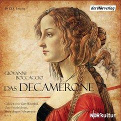 Das Decamerone, 10 Audio-CDs - Boccaccio, Giovanni