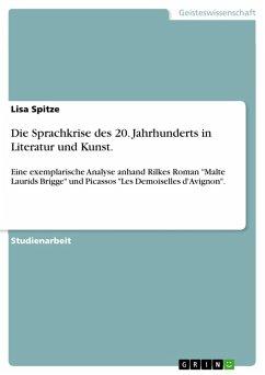 Die Sprachkrise des 20. Jahrhunderts in Literatur und Kunst. (eBook, PDF)