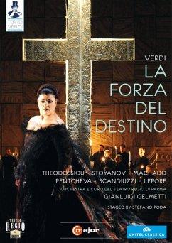 Verdi, Giuseppe - La forza del destino (2 Discs) - Gelmetti/Atfeh/Theodossiou