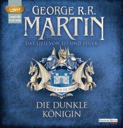 Die dunkle Königin / Das Lied von Eis und Feuer Bd.8 (3 MP3-CDs) - Martin, George R. R.