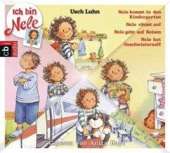 Ich bin Nele Bd.1-4 (1 Audio-CD) - Luhn, Usch