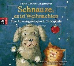 Schnauze es ist Weihnachten / Schnauze Bd.1 (1 Audio-CD) - Angermayer, Karen Chr.