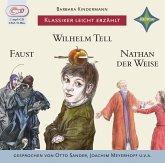 Klassiker leicht erzählt - 3er-Box: Faust, Wilhelm Tell, Nathan der Weise, 1 MP3-CD