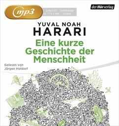 Eine kurze Geschichte der Menschheit, 2 MP3-CD - Harari, Yuval Noah
