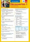 Découvertes Série jaune und bleue 1. Grammatik