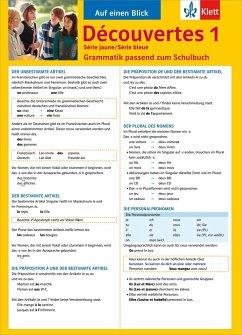 Découvertes Série jaune und bleue 1. Grammatik - Pajot, Eric