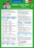 Green Line New Bayern 2 Grammatik passend zum Schulbuch