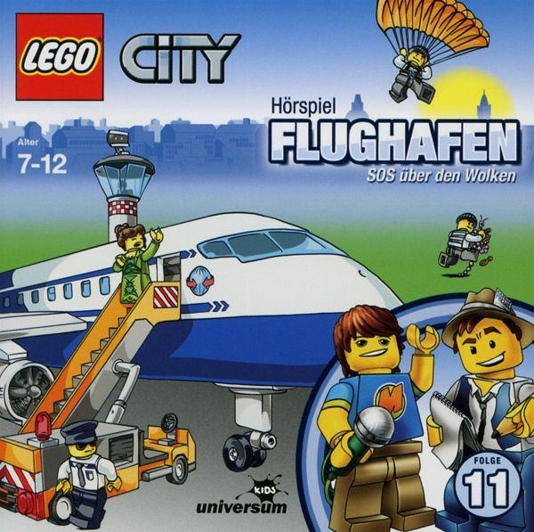 Flughafen - SOS über den Wolken LEGO City Bd.11 1 Audio-CD
