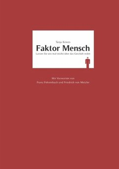 Faktor Mensch (eBook, ePUB) - Kewes, Tanja