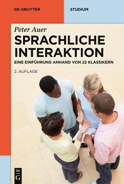 Sprachliche Interaktion - Auer, Peter