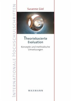 Theoriebasierte Evaluation (eBook, PDF) - Giel, Susanne