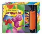 Tolle Figuren aus Luftballons (m. 30 Modellierballons u. Pumpe zum Aufblasen)