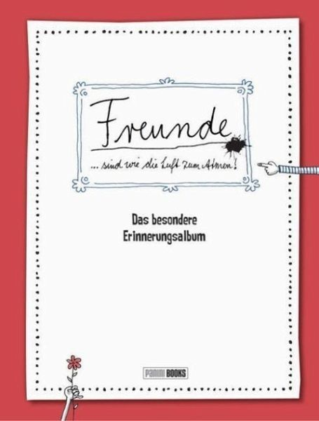 Freunde Das Besondere Erinnerungsalbum Buch