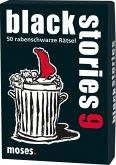 Moses MOS00747 - Black stories 9,50 rabenschwarze Rätsel, Das Krimi Kartenspiel,