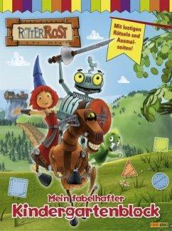 Ritter Rost, Mein fabelhafter Kindergartenblock