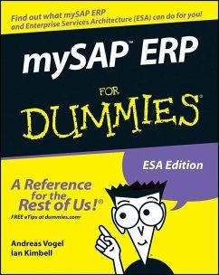 mySAP ERP For Dummies (eBook, PDF) - Vogel, Andreas; Kimbell, Ian