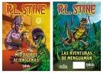 MIS Padres Alienigenas & Las Aventuras de Menguaman / My Alien Parents & Adventures of Shrinkman