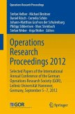 Operations Research Proceedings 2012