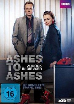 Ashes to Ashes - Zurück in die 80er, Die komplette Staffel Drei (3 Discs) - Glenister,Philip/Hawes,Keeley/Andrews,Dean