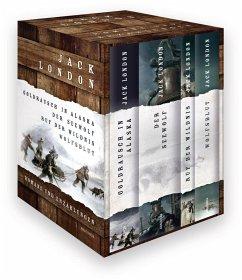 Jack London - Romane und Erzählungen (4 Bände) - London, Jack