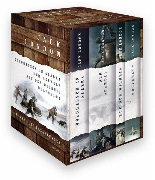 Jack London Romane und Erzählungen (4 Bände)