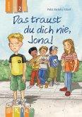 KidS Klassenlektüre: Das traust du dich nie, Jona! Lesestufe 2