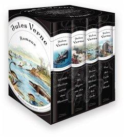 Jules Verne Romane (4 Bände) - Verne, Jules