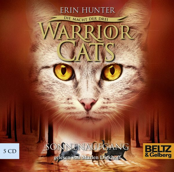 Sonnenaufgang / Warrior Cats Staffel 3 Bd.6, 5 Audio-CDs