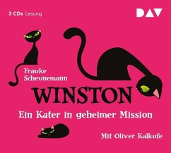 Ein Kater in geheimer Mission / Winston Bd.1 (3 Audio-CDs) - Scheunemann, Frauke