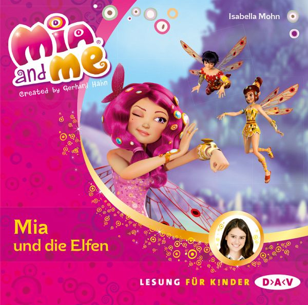 mia und die elfen mia and me bd 1 1 audio cd von. Black Bedroom Furniture Sets. Home Design Ideas