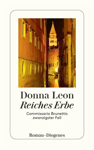Reiches Erbe / Commissario Brunetti Bd.20 - Leon, Donna