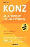 KONZ, Das Arbeitsbuch zur Steuererklärung 2013/14