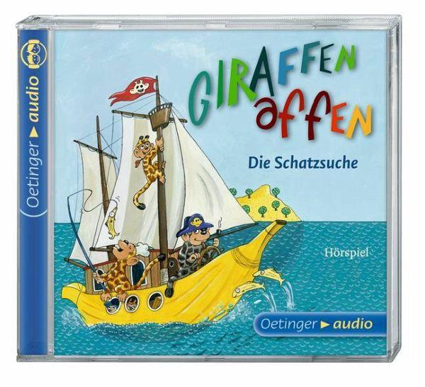 Die Schatzsuche / Giraffenaffen Bd.2 (1 Audio-CD) von ...