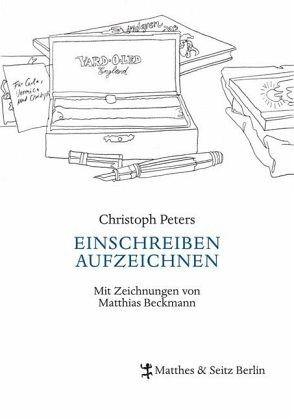 EINSCHREIBEN AUFZEICHNEN - Peters, Christoph
