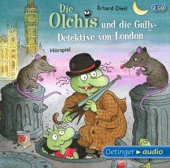Die Olchis und die Gully-Detektive von London / Die Olchis-Kinderroman Bd.7 (2 Audio-CDs) - Dietl, Erhard