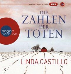 Die Zahlen der Toten / Kate Burkholder Bd.1 (Hörbestseller MP3-Ausgabe), 1 MP3-CD - Castillo, Linda