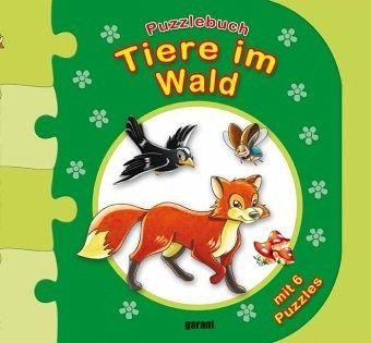 Puzzlebuch Tiere im Wald - Buch - buecher.de