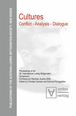 Cultures. Conflict - Analysis - Dialogue
