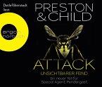Attack - Unsichtbarer Feind / Pendergast Bd.13 (6 Audio-CDs)